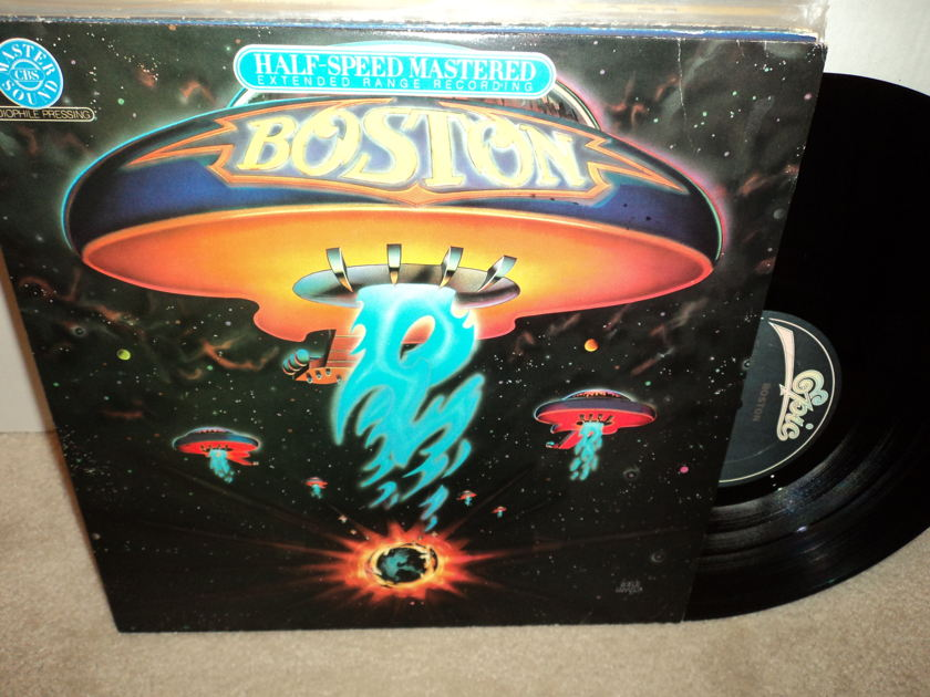 Boston (Half Speed Mastered) - Self-titled More than a Feeling rare vinyl NM / VG++