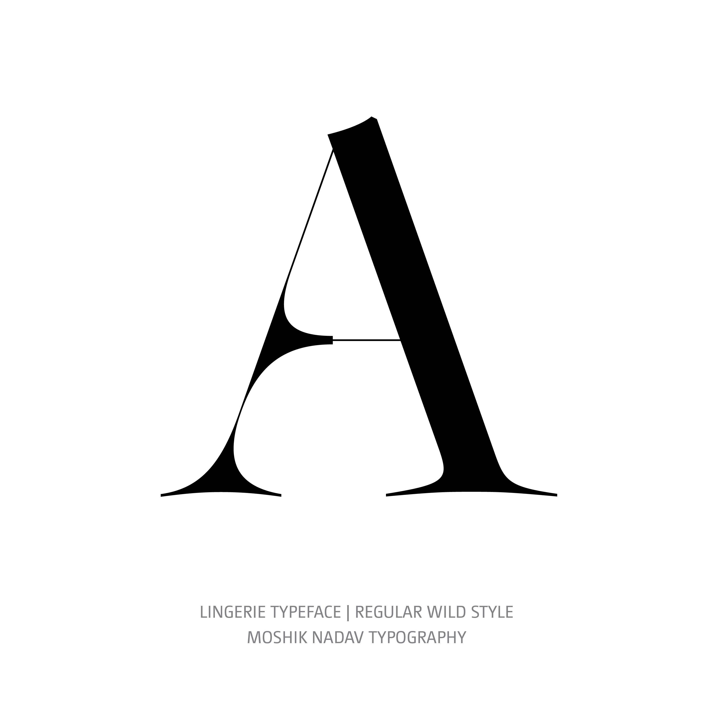 Lingerie Typeface Regular Wild A