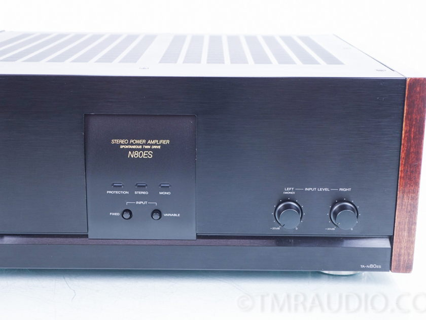 Sony TA-N80ES Stereo Power Amplifier (8380)