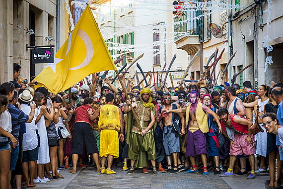 Pollensa - La Patrona in Pollensa, one of the most famous fiestas in the whole Mallorca