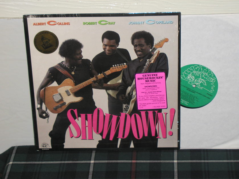 Collins,Cray,Copeland - Showdown (shrink+sticker) W/Grammy sticker