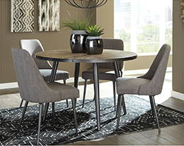 Coverty Round Dining Table