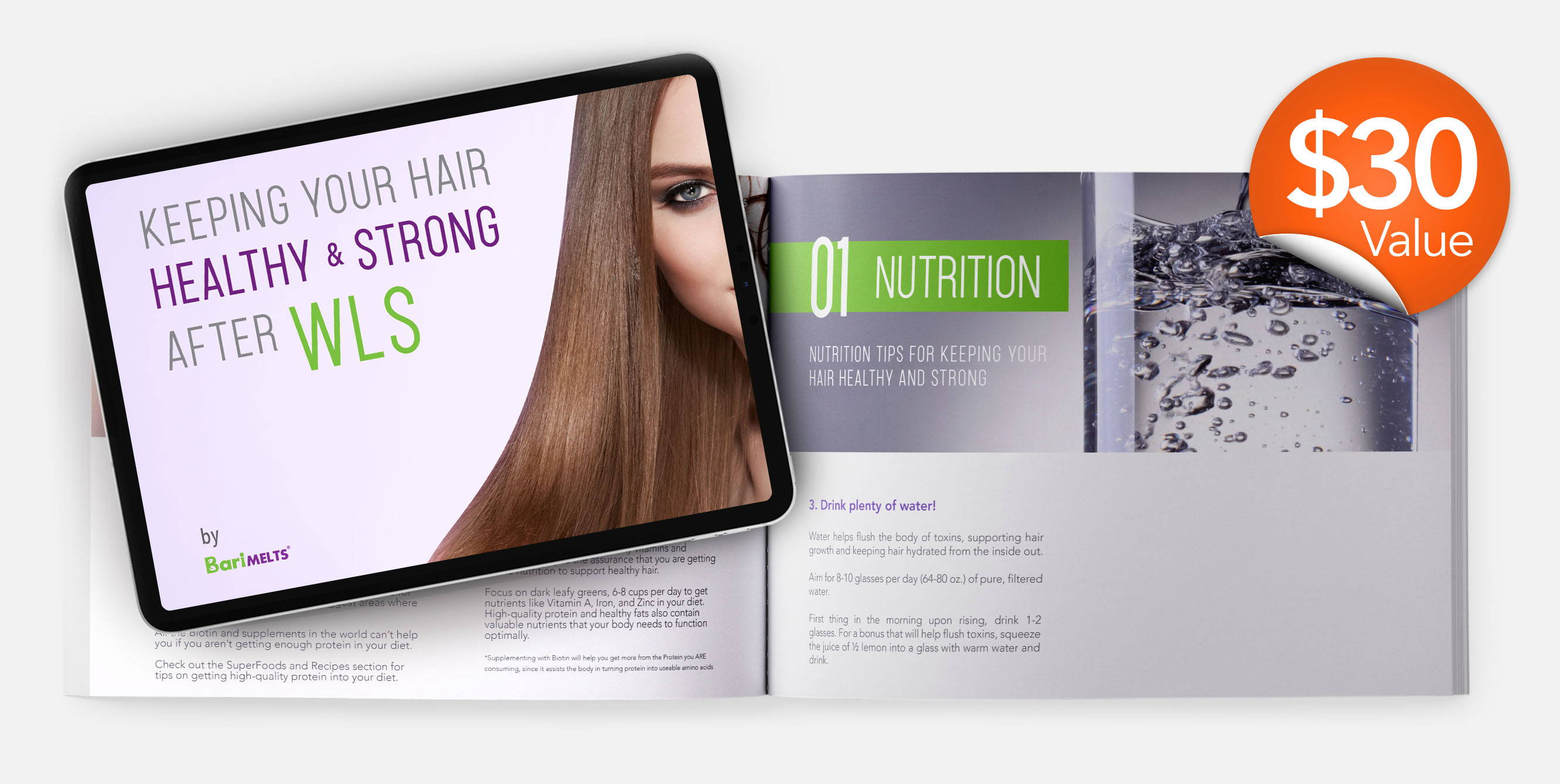 front cover keeping your hair healthy and strong after wls ebook by barimelts