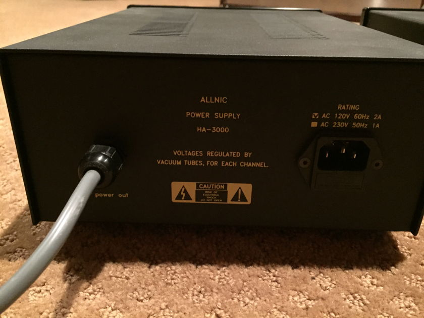 Allnic Audio HA-3000 Phono head amp