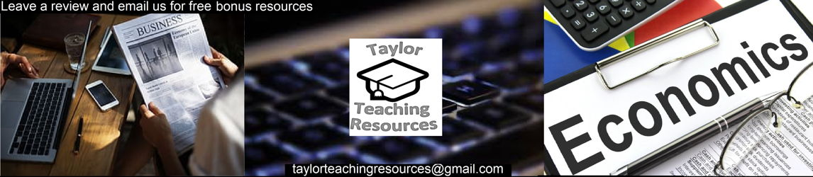 Taylor Made Resources for Business, Computing + Humanities