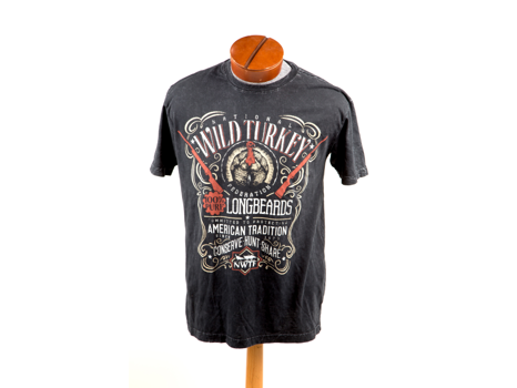 Longbeard T-Shirt Black Lava Wash