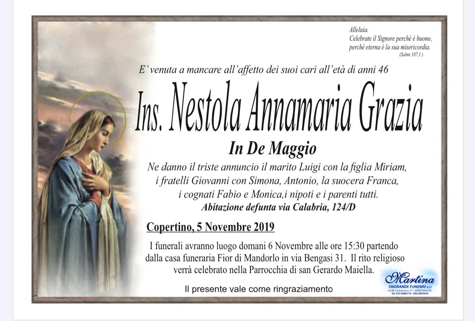 Annamaria Grazia Nestola