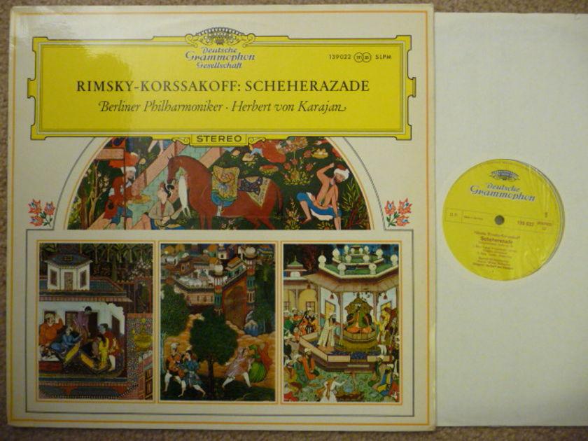 Rimsky Korsakoff - SCHEHERAZADE  DG LP