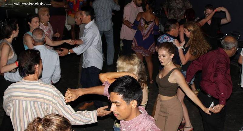 Salsa Sundays with the Charlottesville Salsa Club