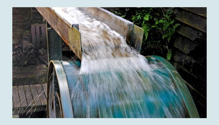 lvr industriemuseum oelchenshammer wasser läuft aufs rad
