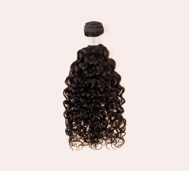 Water Wave Natural Black Bundles Mayvenn