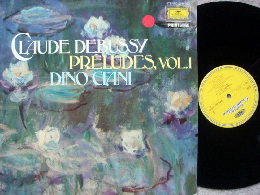 DG / DINO CIANI, - Debussy Preludes Vol.1, NM!