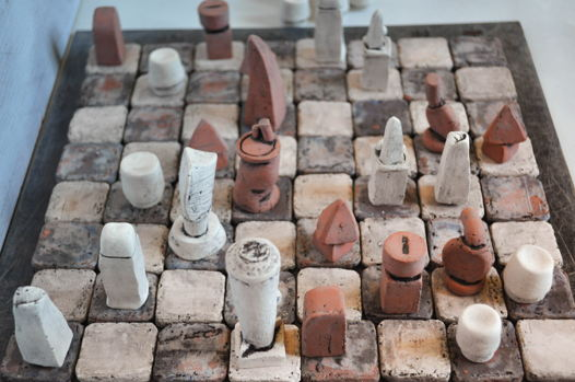 """Geo-Metric"" авторские шахматы Fortochka ceramic"