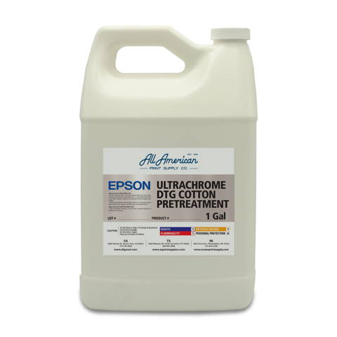 Epson DTG UltraChrome Pretreatment Liquid 1 Gallon