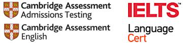 Cambridge Assessment Admissions Testing, IELTS, Language Cert