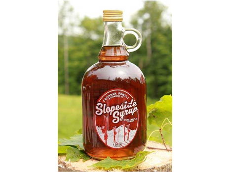Slopeside Syrup Autographed by the Alpine Team