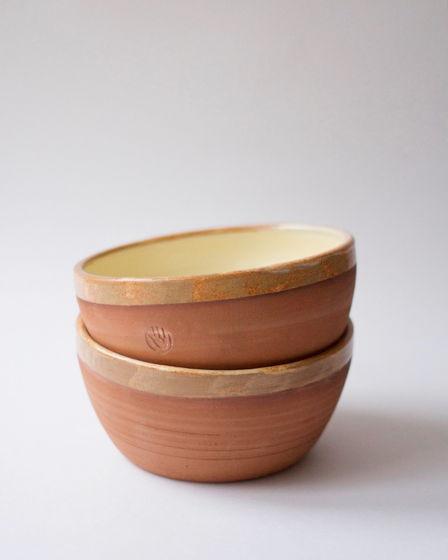 Набор керамических тарелок — 14 см