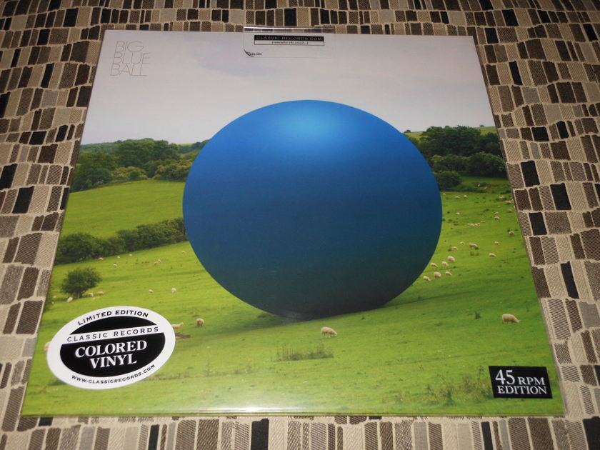 Peter Gabriel  and Others - Big Blue Ball Classic Records - Blue Heavy Vinyl - Sealed! Limited!