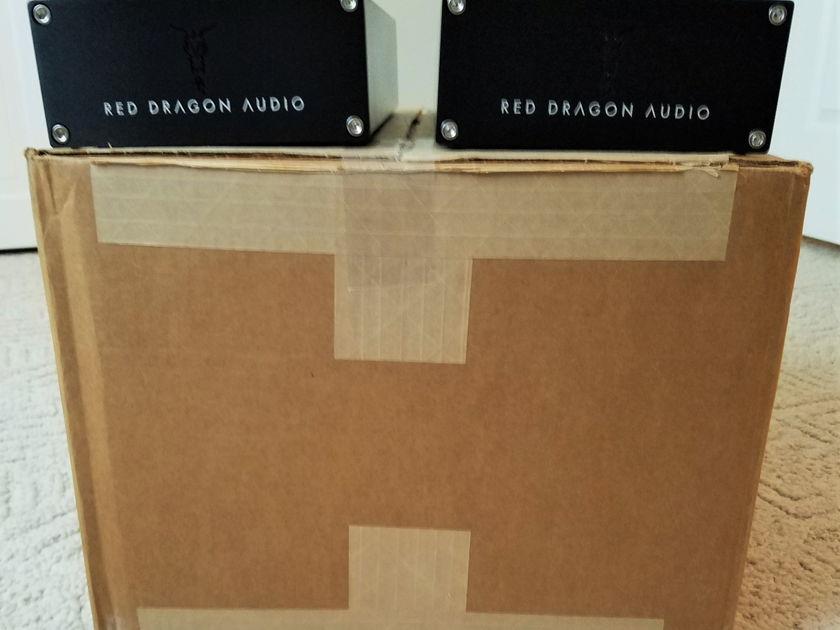 Red Dragon Audio M1000 Mark II Monoblocks Black