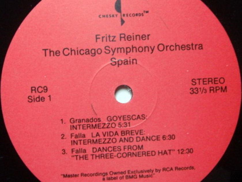 ★Audiophile★ Chesky / REINER, - Spain,, MINT(OOP)!