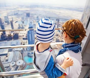 Современный Дубай и подъём на башню Бурдж Халифа