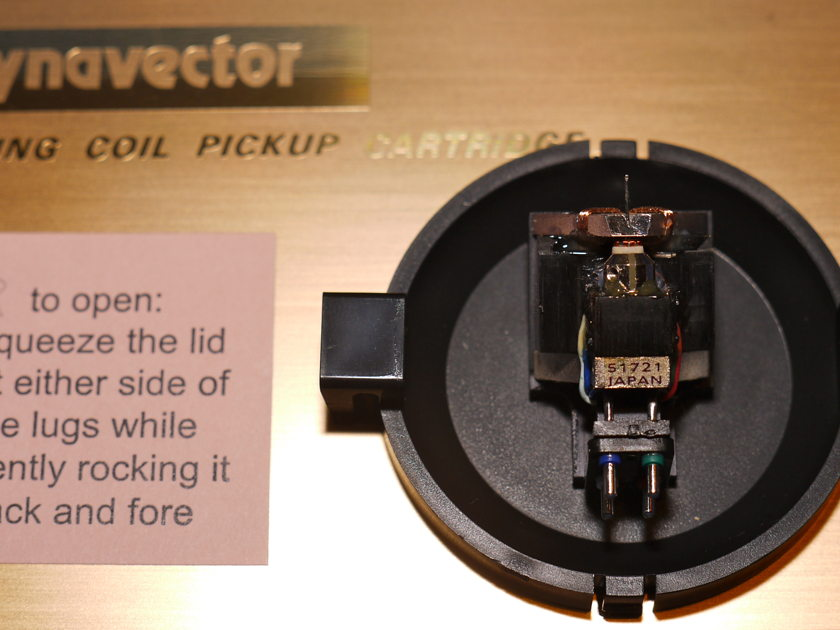 Dynavector XV-1S Cartridge one of the very best phono cartrdiges ever built!