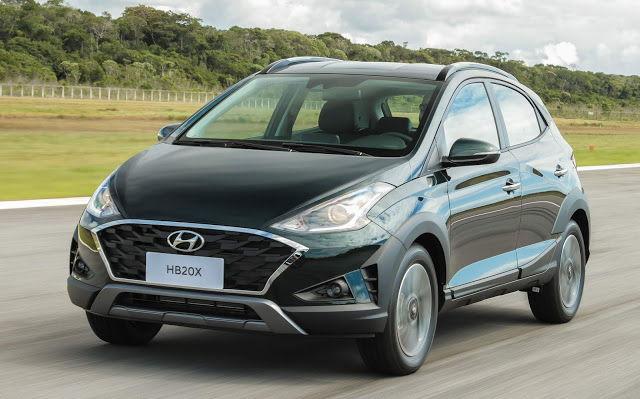 Hyundai HB20X 2020 Frente