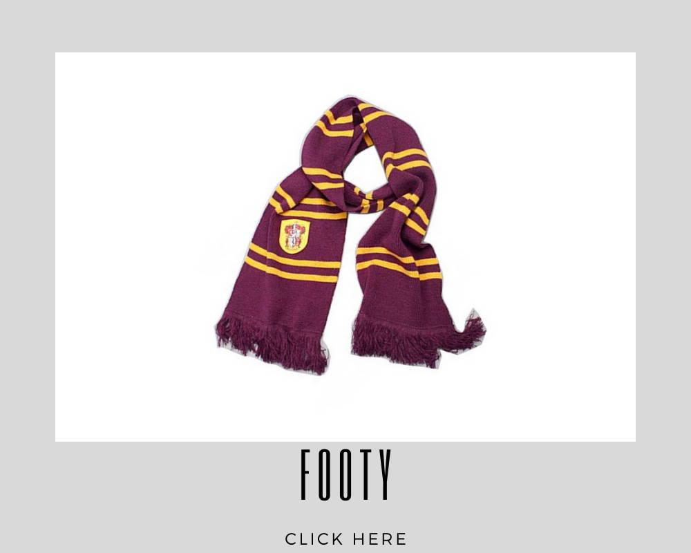 Footy Custom Scarf/Scarves