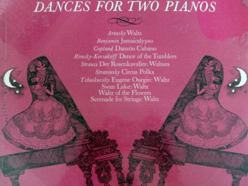 ★Sealed★ RCA Victrola / VRONSKY-BABIN, - Dances for Two Pianos, Original!