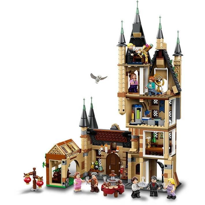LEGO Harry Potter Hogwarts astronomy tower