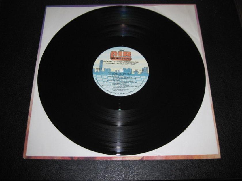 "KING BAPTIST CHURCH MASS CHOIR - ""Holding on to Jesus' Hand"" LP/Vinyl"