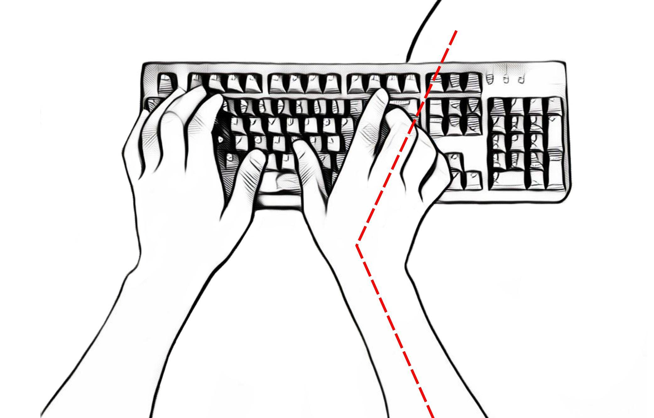 standard keyboard backspace reach