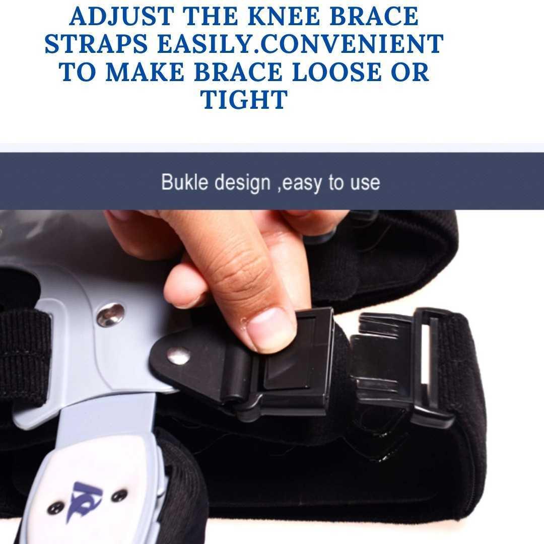 comfyorthopedic oa unlaoder knee brace designed with buckle system