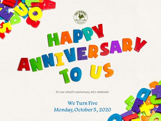 5th anniversary primroseharmony