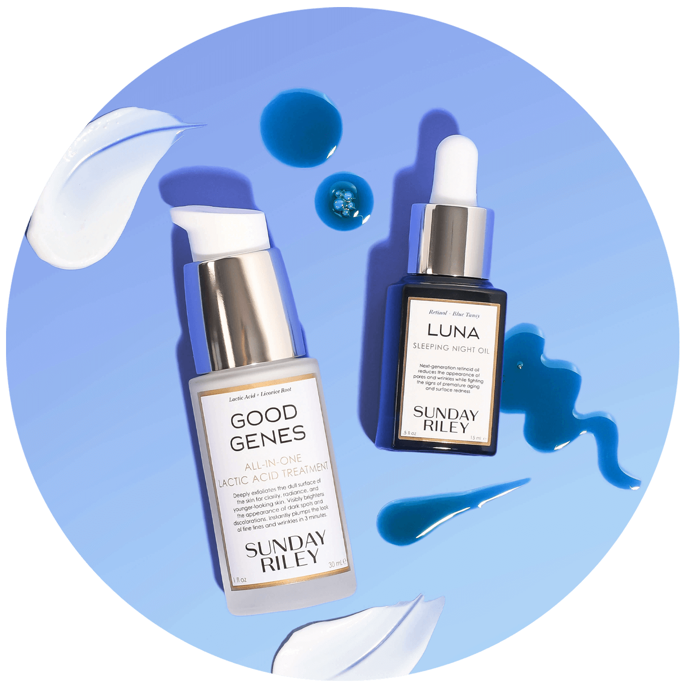 An anti-aging duo that deliversluminous, youthful even-toned skinbythe morning.