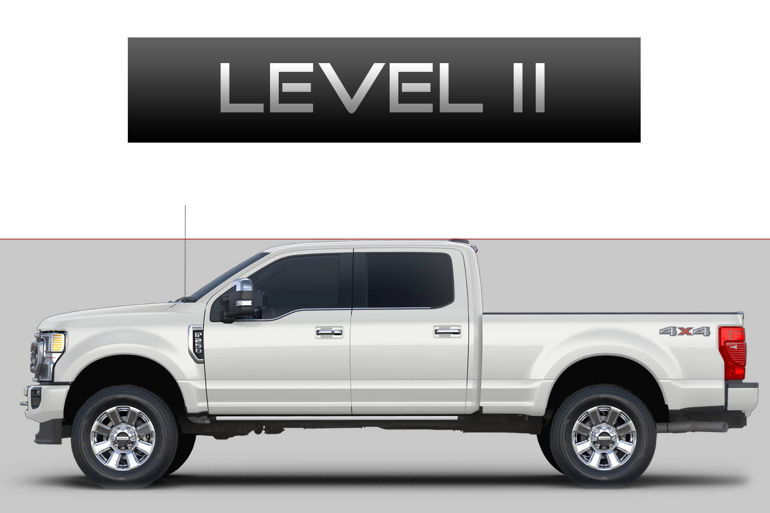 Ford F250 F350 Super Duty Off-Road Customizing Package Level 2 by 3C Trucks