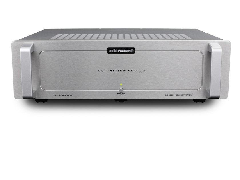 Audio Research  DS450 M Silver MonoBlock Pair Solid State Amplifiers with warranty.