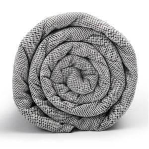 Baumwoll Bezug schwere Decke von LEVIA