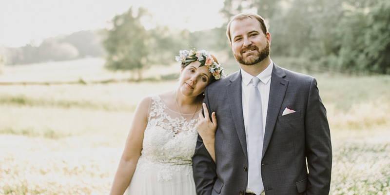 Eclectic, Boho-Chic Farm Wedding