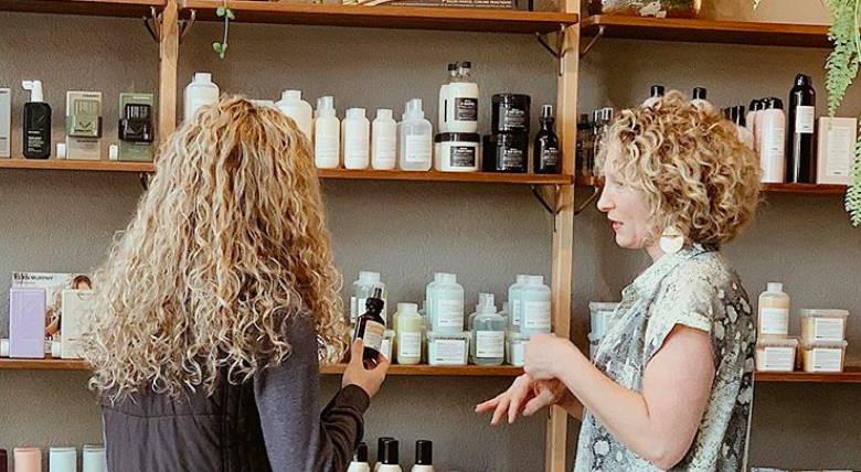 Protect thick hair Davines salon