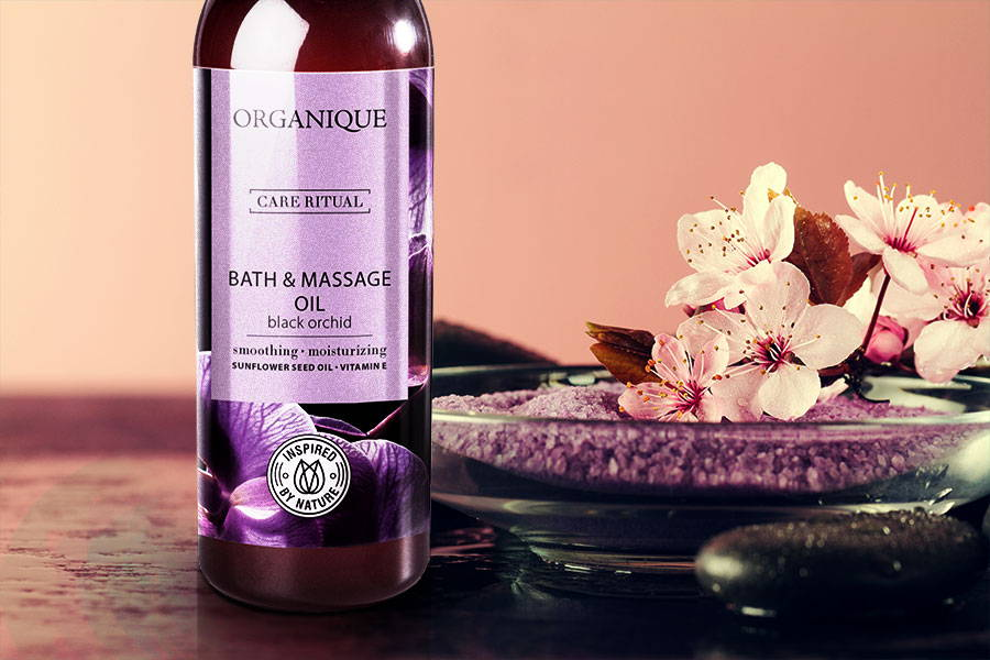 Bath and Massage Oil Black Orchid