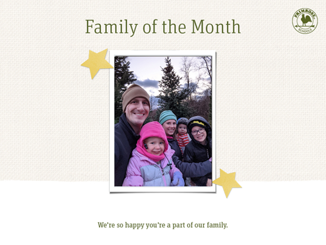 mccormick family of the month