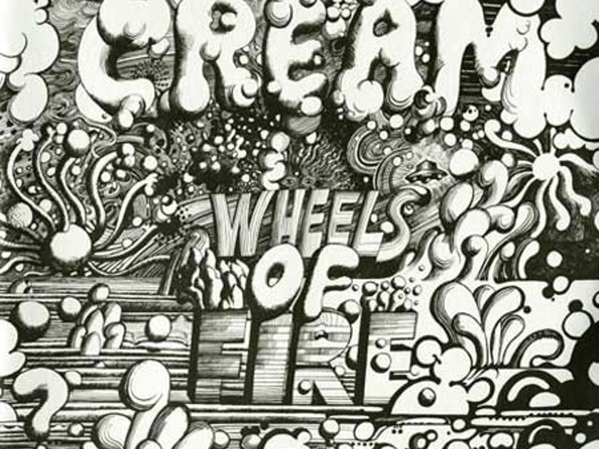 Cream   - Wheels of Fire 180 Gram Vinyl Record
