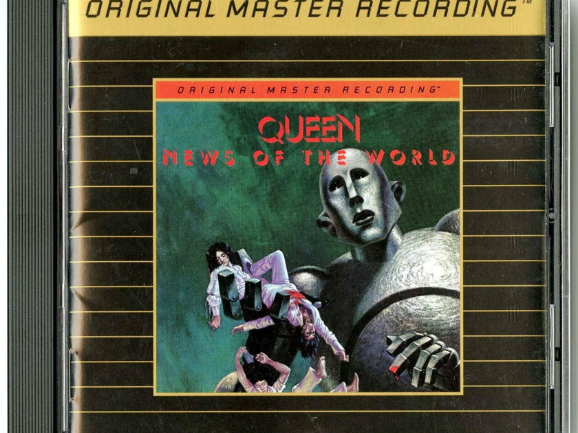 Queen  - News of the World Gold CD by MFSL