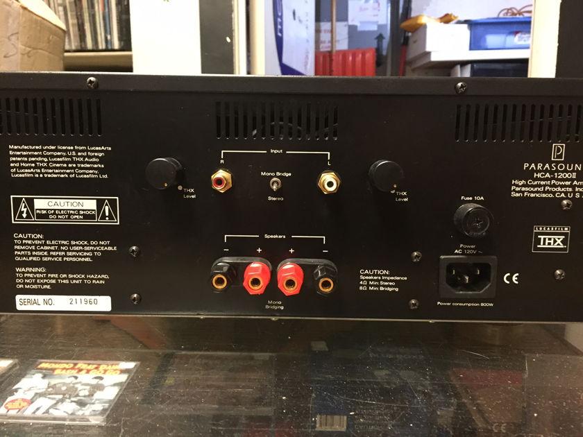 Parasound HCA-1200 mkII Power Amp