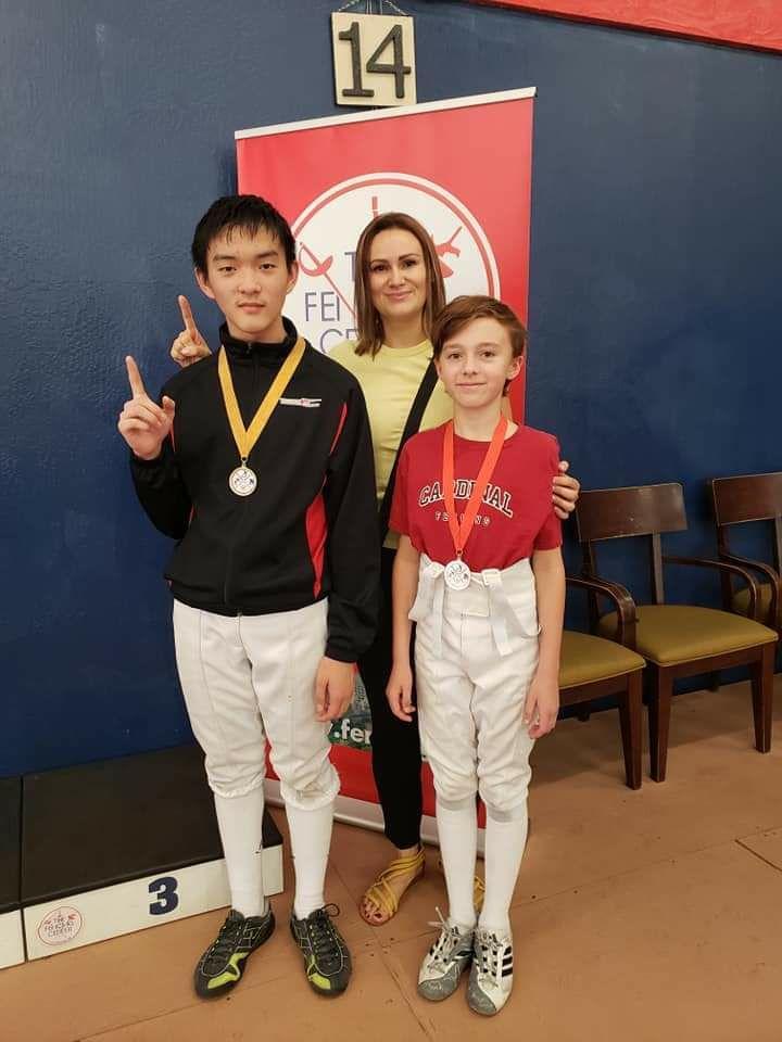 Coach Olga w medalists