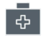 First aid icon - a medical box