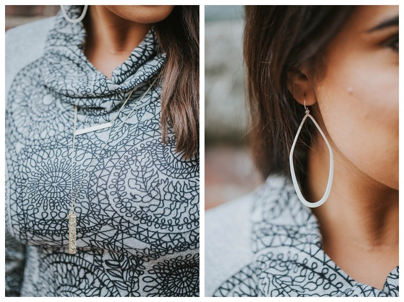 geo earrings-fall earrings-necklaces-trendy accessories-gold geo necklace-fun fall fashion