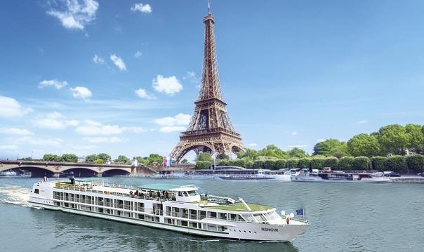 Обед на кораблике с круизом по Сене, Париж