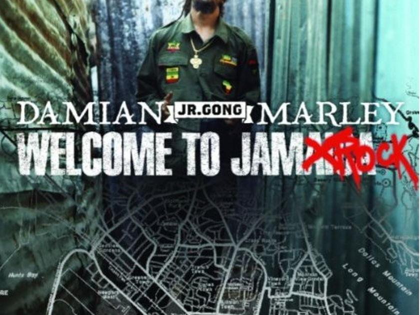 Damian Marley - Welcome to Jamrock 2LP HTF on vinyl